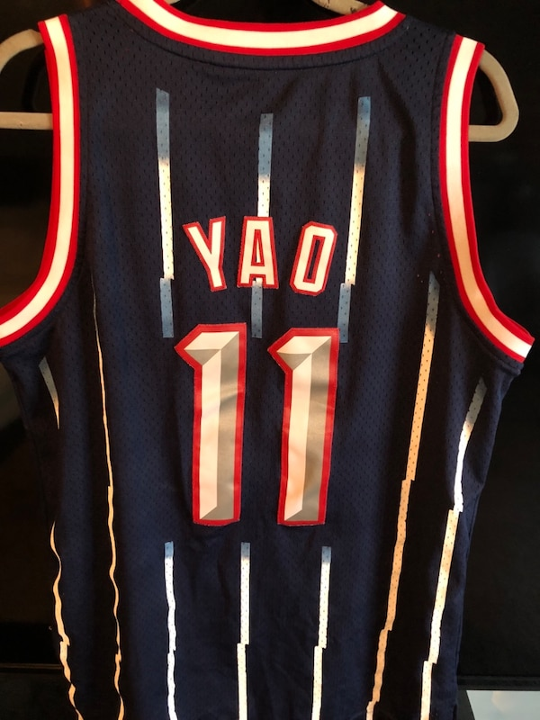 info for 32a77 fdfec throwback jersey ( Yao Ming's )
