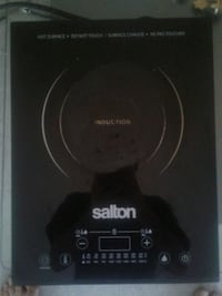 Salton portable induction cooktop Vancouver, V6Z 1P6