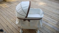 baby's white and gray bassinet Lilburn, 30047