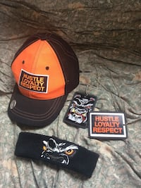 WWE John Cena Hustle Loyalty Respect Hat, Wrist band & Dog tags 2008 Sainte-Julie, J3E