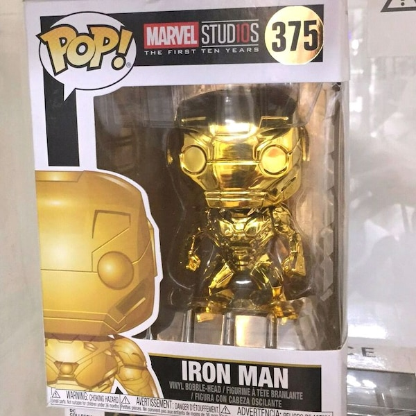 Özel üretim Gold İron Man funko pop 6998a91e-f8dc-4bad-bfb3-b76965854326