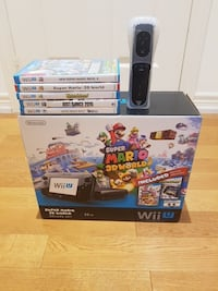 Nintendo Wii u game box with game cases and contro Richmond Hill, L4B 4G9