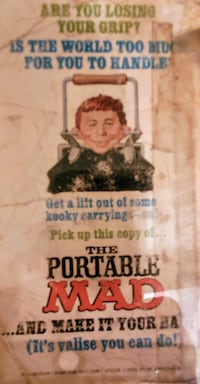 Portable MAD magazine - book