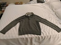 American Eagle Men's Gray Zip-up Hoodie Ashburn