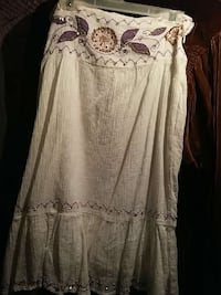 gray and purple floral tube dress Woodbine, 21797