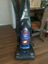 black and blue Bissell upright vacuum cleaner Amarillo, 79109
