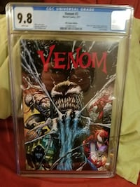 Venom comic book pack Pittsburgh, 15236