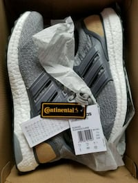 Adidas Ultra boost Ltd 3.0 Grey Leather Size 8 Men 555 km