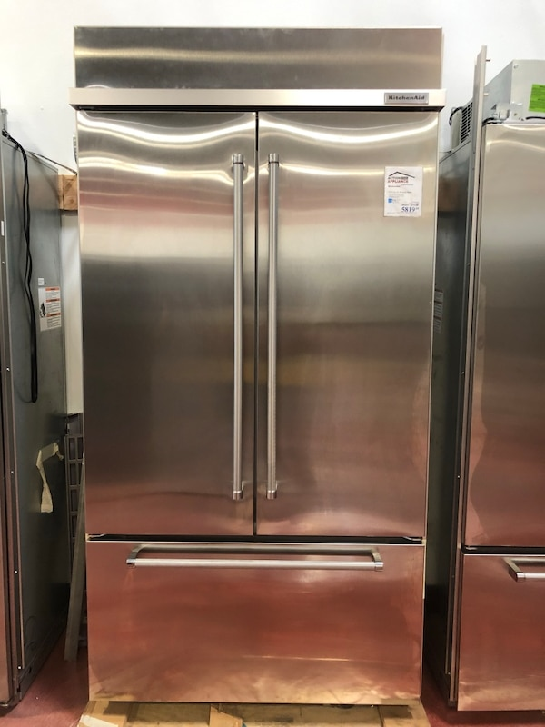 Kitchenaid Built-in Stainless Steel French Door Refrigerator