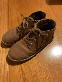 Boys Toms Leather Shoes Vaughan, L4K