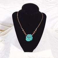 Turquoise Rose Necklace Portland, 97222