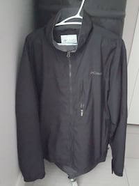Mens Columbia Jacket with zippers size large