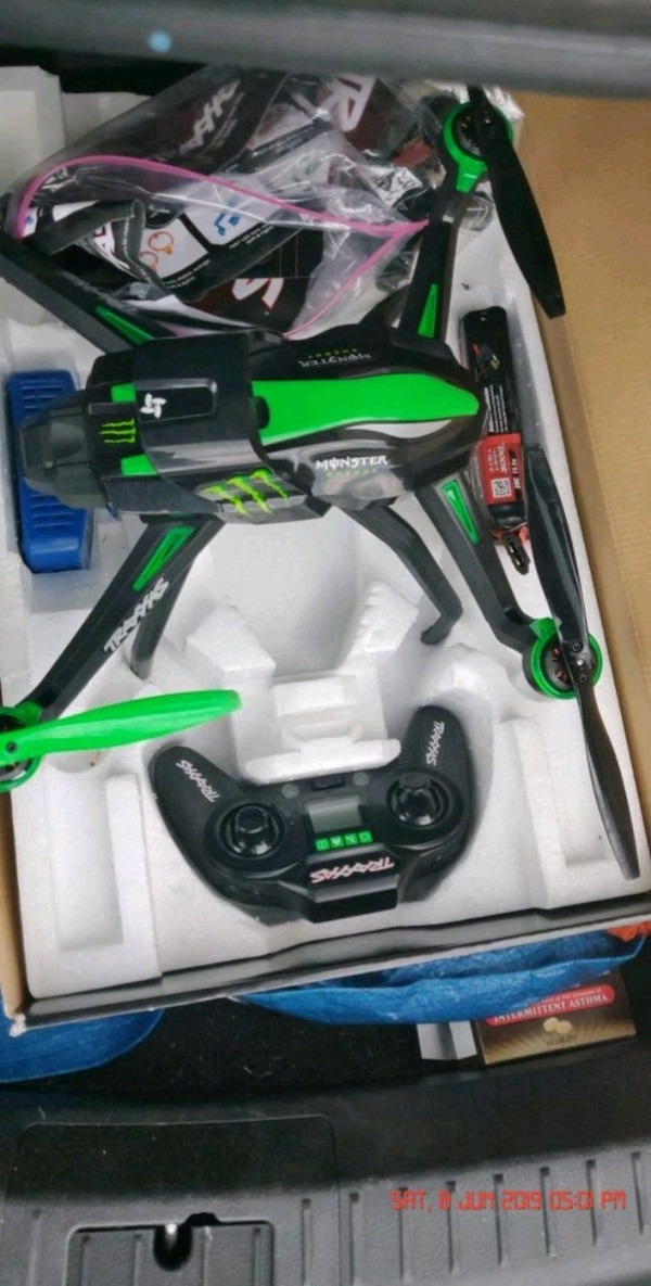 Drone Monster Energy - Best Pictures and Model Of Drone