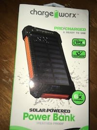 ChargeWorx Solar Portable Charger North Berwick, 03906