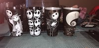 Nightmare before Christmas glasses set Belleville, K8P 3Y9
