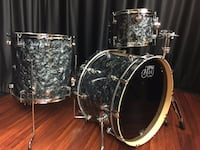 "DW Performance drums 8"" and/or 12"" Black Diamond 58 km"