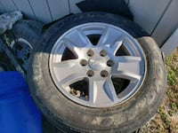 "Stock chevy wheels ""sale/trade"" 38 mi"