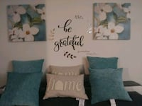 Decor pillows and matching pictures Ocala, 34471