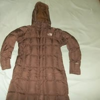 North Face Goose Down Trench Coat