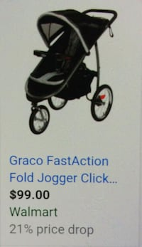 black and white jogging stroller Palm Coast, 32164