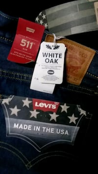 LEVI 511 Slim Fit Jeans 36x32 MADE IN USA!!! Stockton, 95215