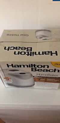 Brand new Hamilton Beach HomeBaker Fairfax, 22032