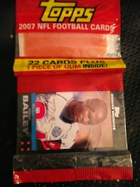 07 footbsll cards Temple Hills, 20748