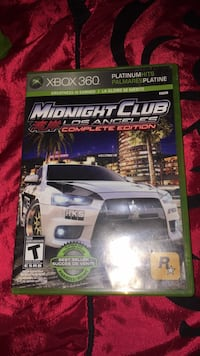 Midnight club of Los Angeles complete edition Xbox 360  Calgary, T2W 1K5