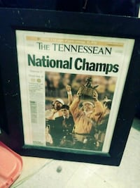 Tennesseean Front Page Vols state champs Nashville, 37211