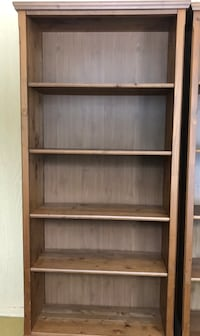Wooden bookcase X2