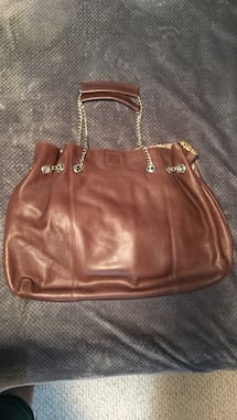Large leather tote bag brand soprano