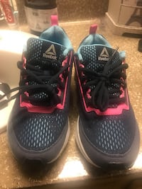 pair of black-and-red Nike basketball shoes Elk Grove, 95758