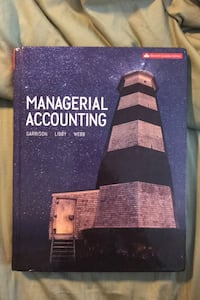 Managerial accounting Mississauga, L5W 1K5