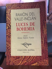 Libro luces de bohemia valle-inclan Madrid, 28002