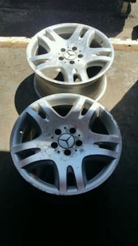 "2 used Mercedes-Benz 17"" rims Toronto, M8W"