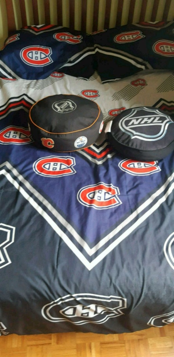 Montreal Canadians bed cover