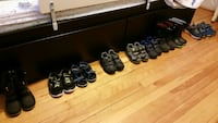 Boys shoes and boots size 9 to 12.   Montréal, H2T 2W1