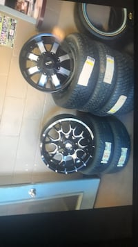 Tires and wheels on payment plan  317 mi