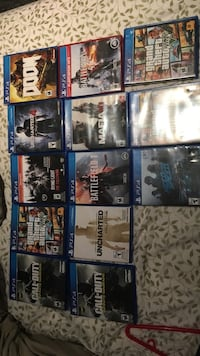Ps4 games Georgetown, L7G 5H3
