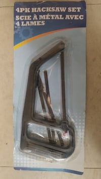 4pc Hacksaw Set hand tool - NEW IN PACKAGE London