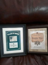 Wine art wall decor / sign both for $10 Manalapan Township, 07726