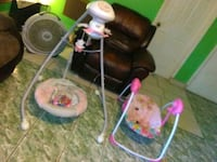 baby's white and pink cradle n swing Temple Terrace, 33617