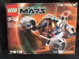 LEGO Life on Mars Space: T-3 Trike Set 7312 New in Box- Retired
