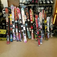 Snow ski skis in most size from 80 cm to 183 used and new slope reddy  Woodbridge, 22191