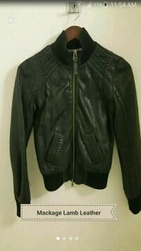 Mackage Real Leather Jacket Exclusive for Aritzia Mississauga, L5L 5T2