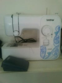 white and blue Brother sewing machine Savannah, 31406