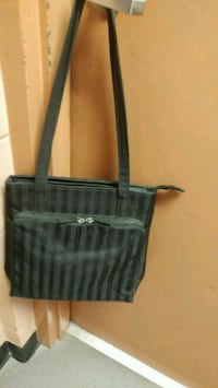 black and gray tote bag Kitchener, N2G 4X6
