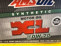 Amsoil synethic oil for Honda CRV or other vehicles 0w20 brand new Essa, L0M 1T0