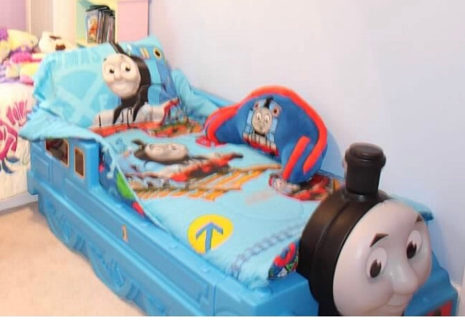 Ordinaire Thomas The Tank Engine Toddler Bed