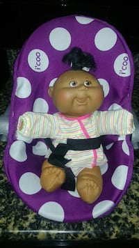 Cabbage Patch KIds doll@carrier